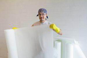 壁紙(クロス)を綺麗に張る壁装作業のプロを目指す!一級試験講座職人教材(動画教材)は建設業でキャリアアップを目指したい方におすすめ!